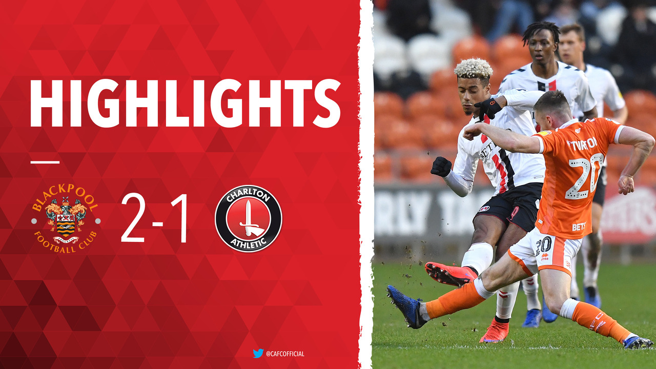 27 HIGHLIGHTS | Blackpool 2 Charlton 1 (December 2018)