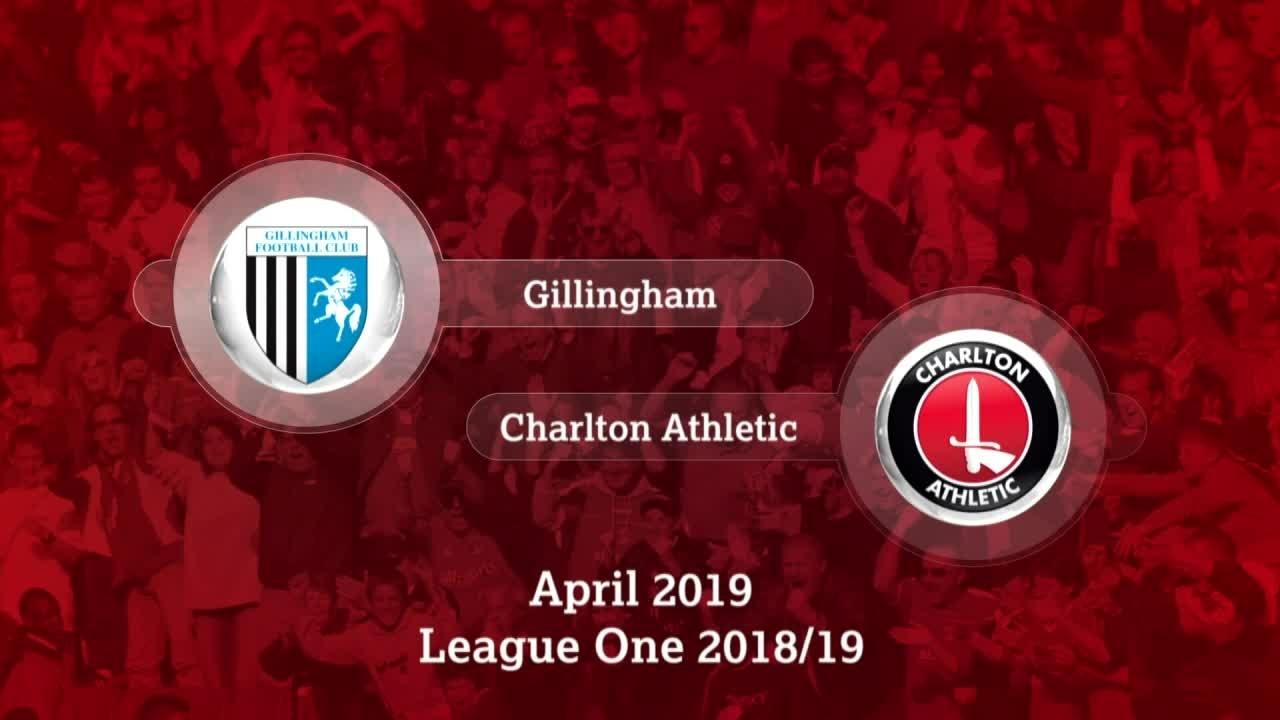 GOALS | Gillingham 0 Charlton 2 (April 2019)