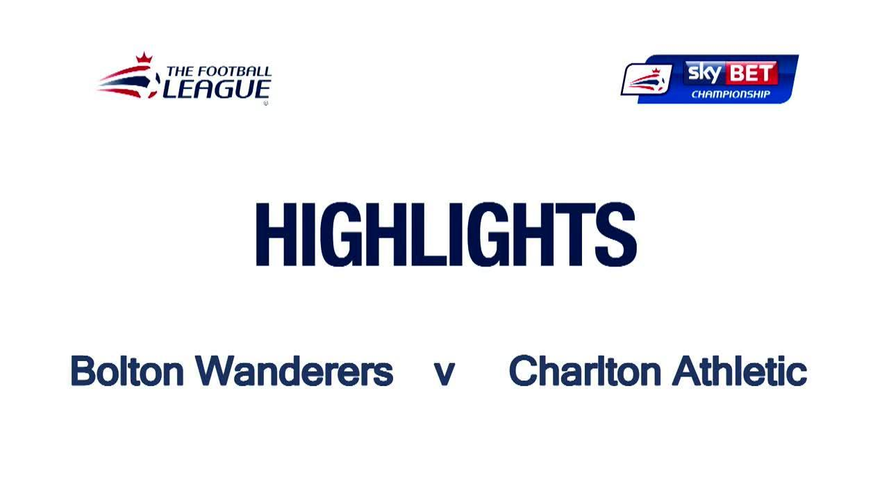 47 HIGHLIGHTS | Bolton 0 Charlton 0 (April 2016)