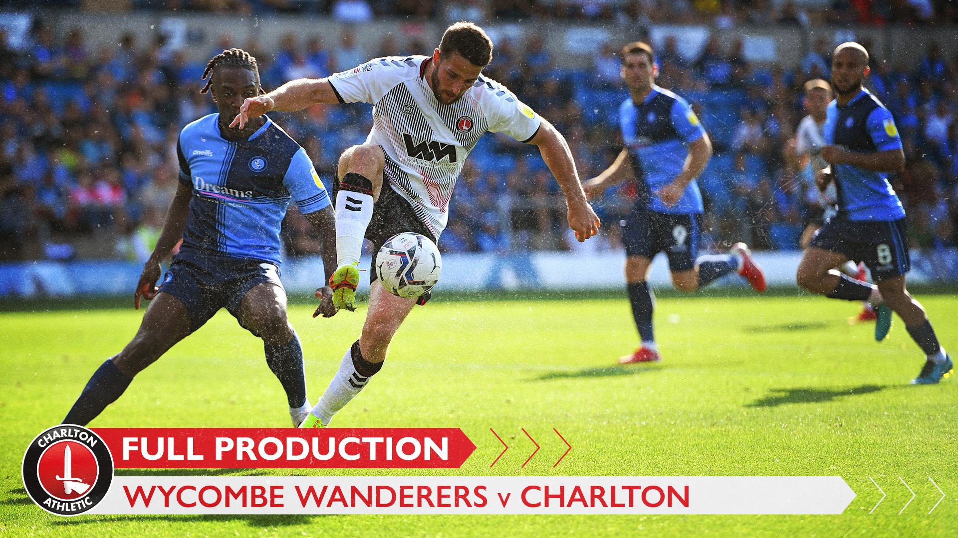 CharltonTV | Full broadcast - Wycombe Wanderers (September 2021)