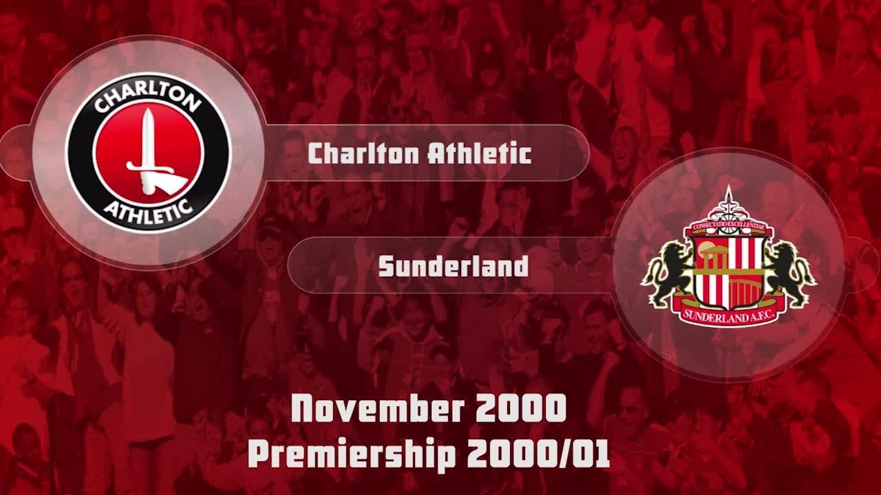17 HIGHLIGHTS | Charlton 0 Sunderland 1 (Nov 2000)