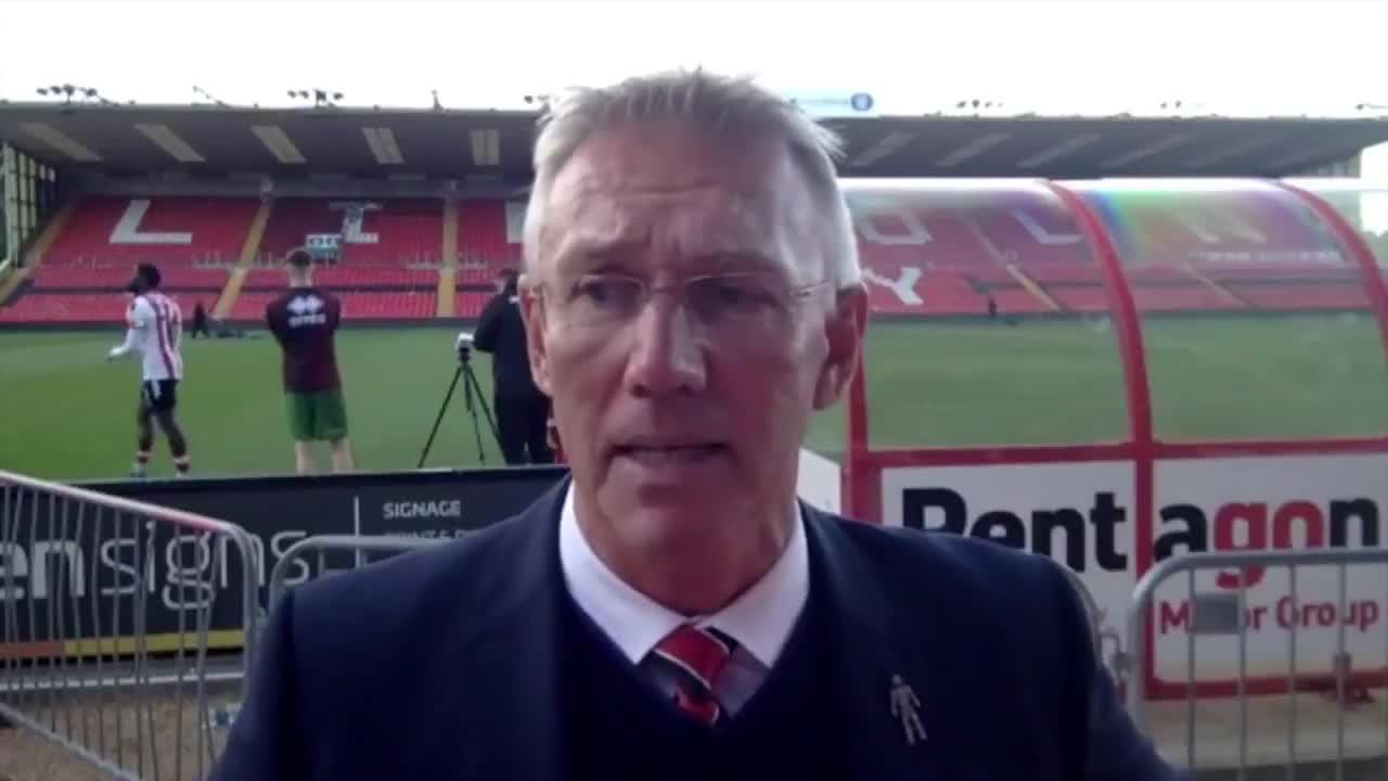 Nigel Adkins post-Lincoln City interview (October 2021)