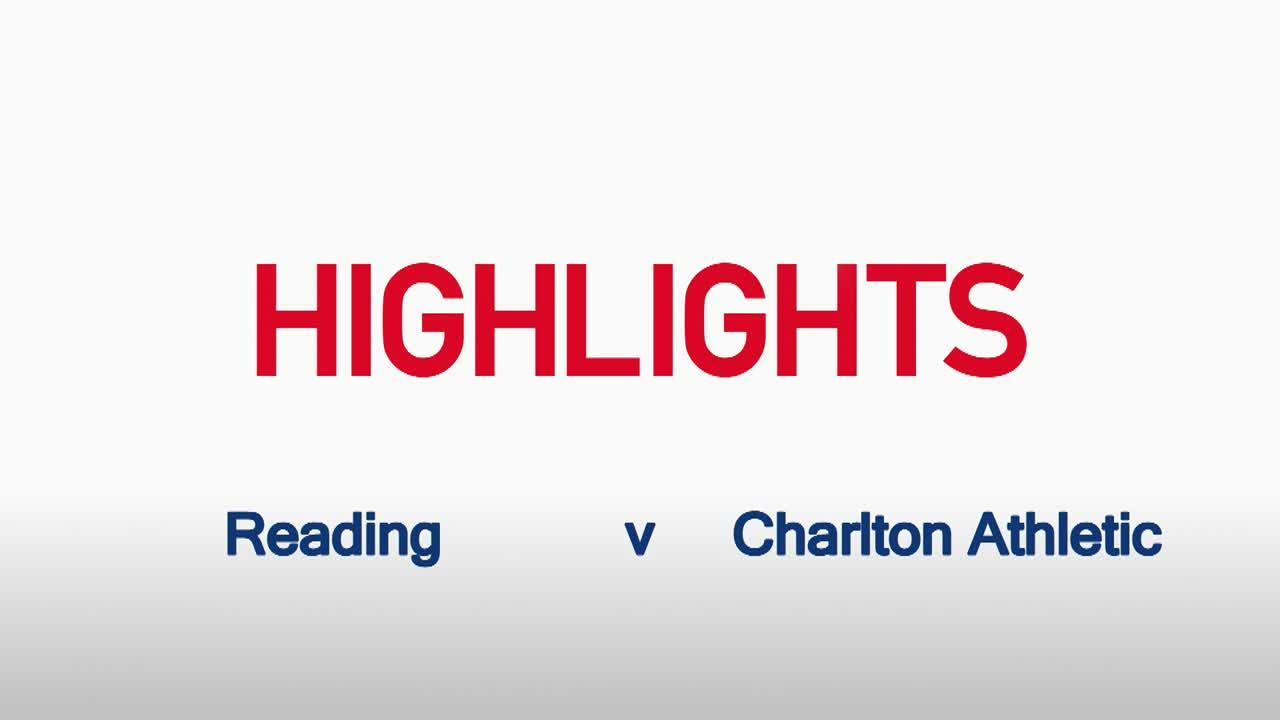 14 HIGHLIGHTS | Reading 1 Charlton 0 ( Oct 2015)