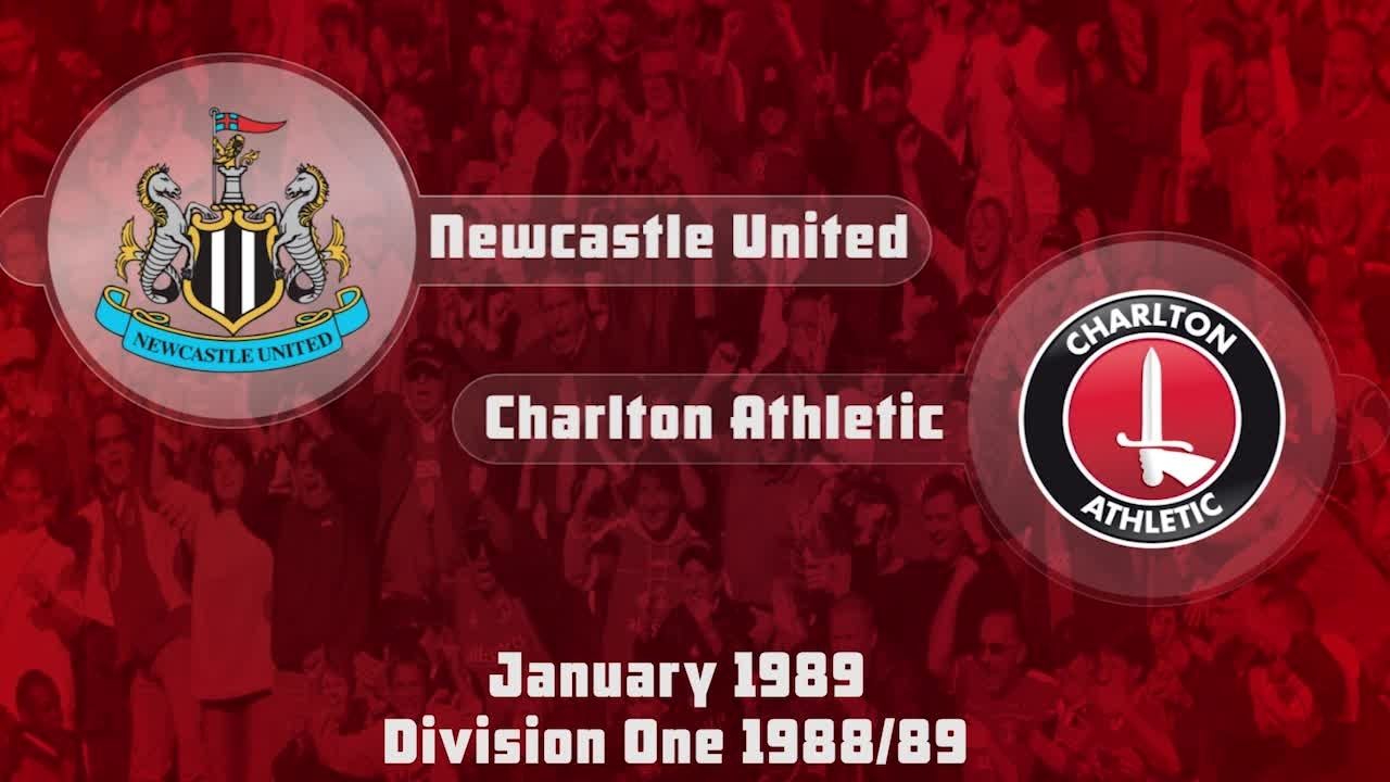 27 HIGHLIGHTS | Newcastle 0 Charlton 2 (Jan 1989)