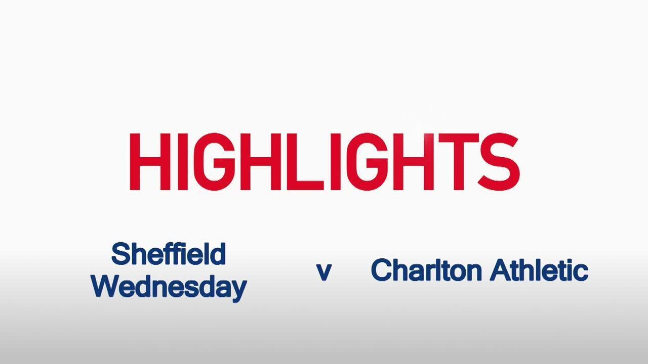 42 HIGHLIGHTS   Sheffield Wednesday 3 Charlton 0 (March 2016)