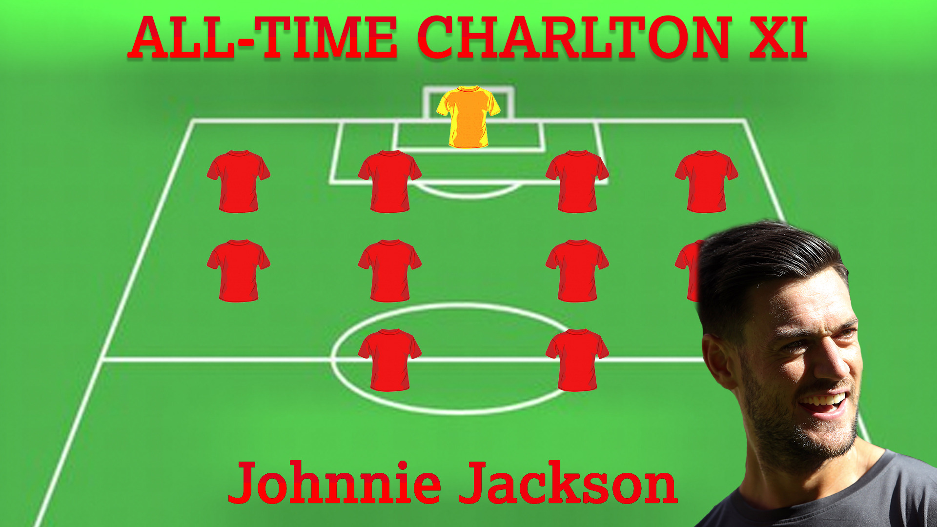 ALL-TIME CHARLTON XI | Johnnie Jackson