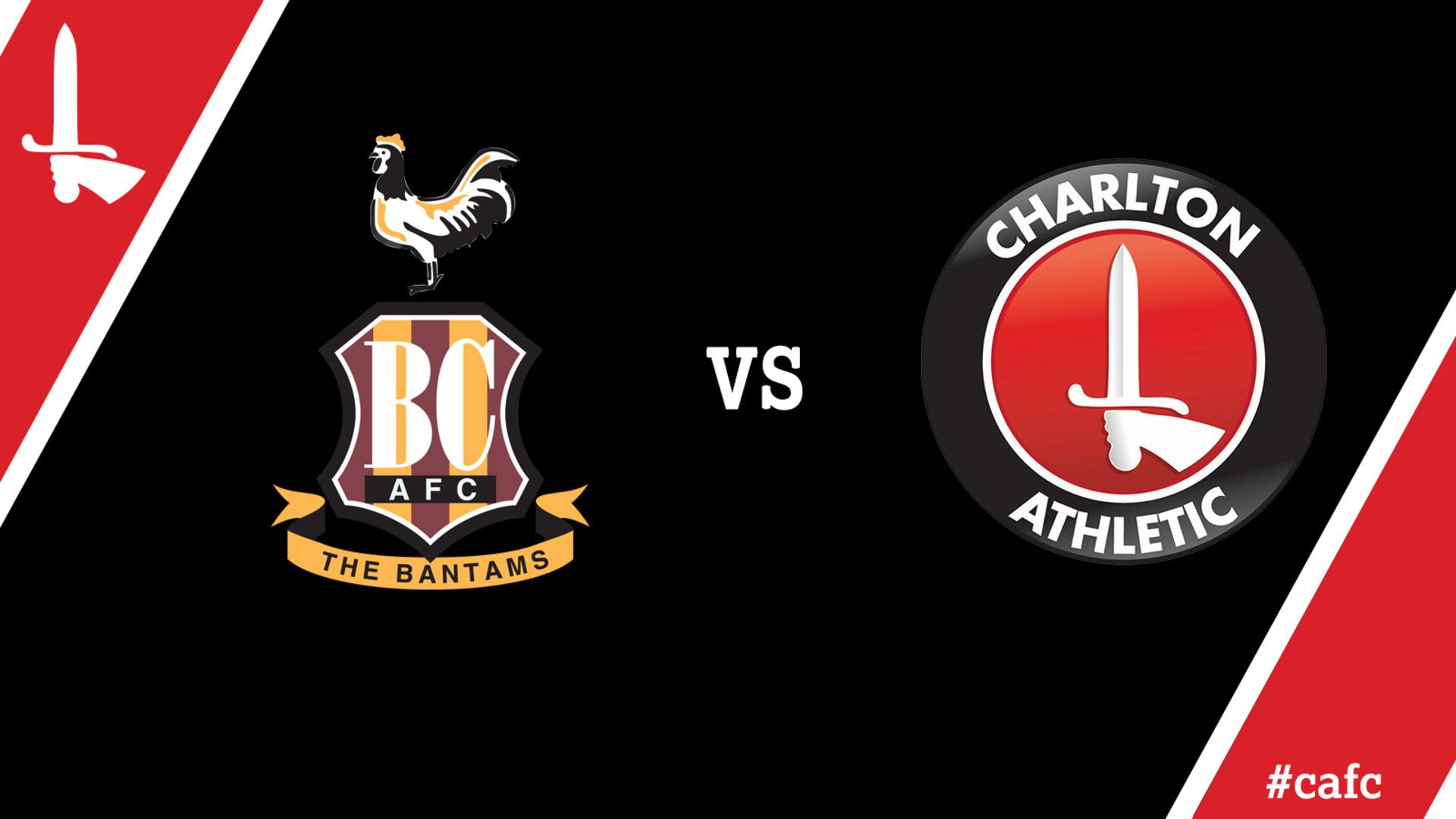 LIVE COMMENTARY | Bradford Vs Charlton