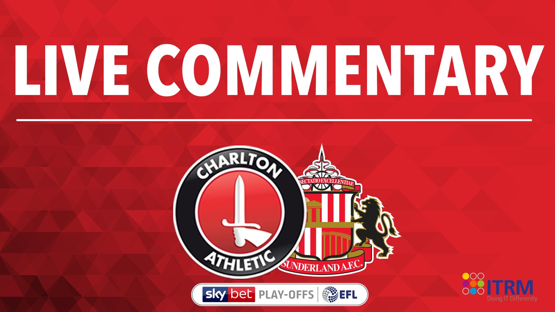 LIVE COMMENTARY | Charlton v Sunderland