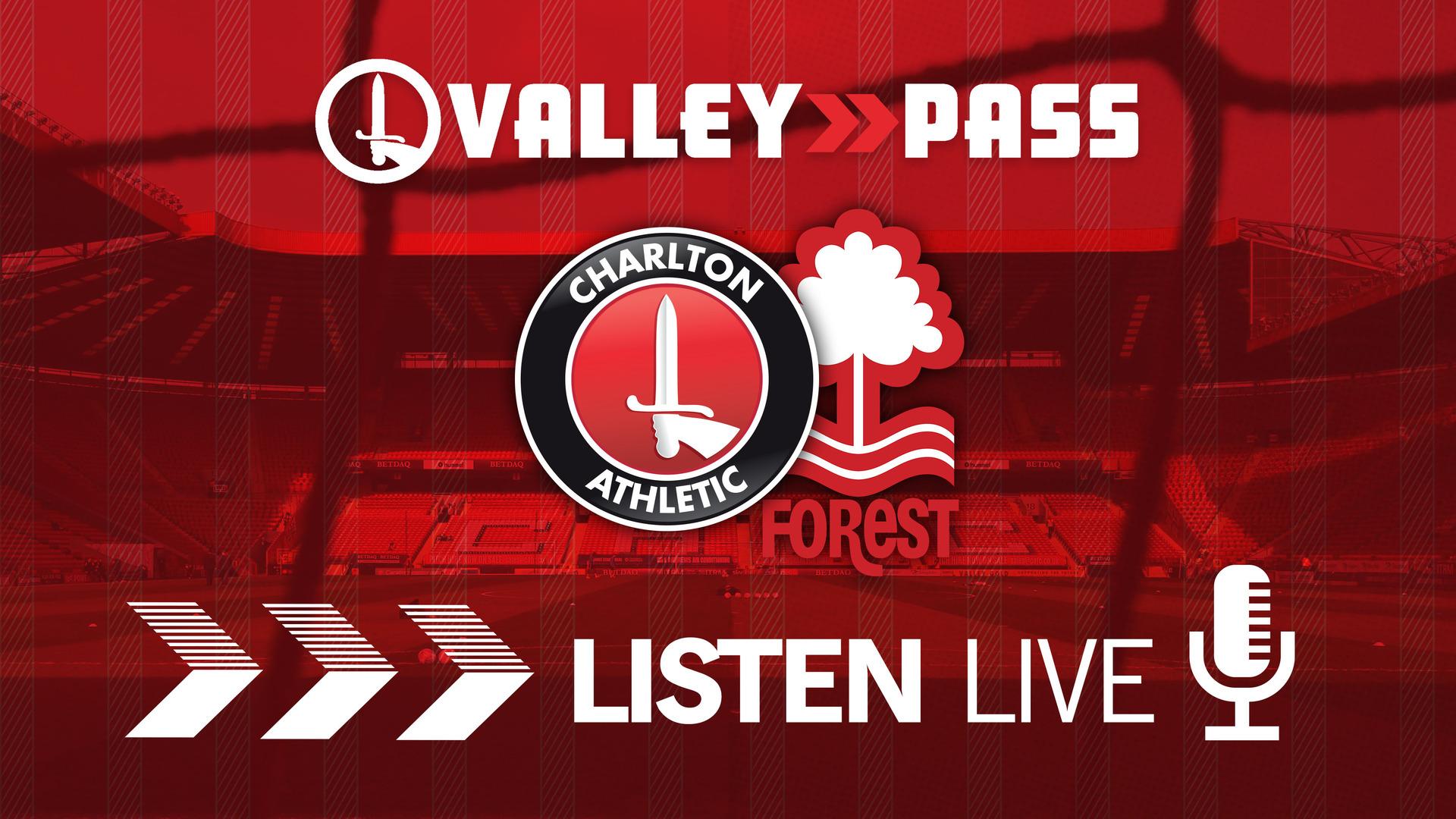 LIVE COMMENTARY   Charlton v Nottingham Forest