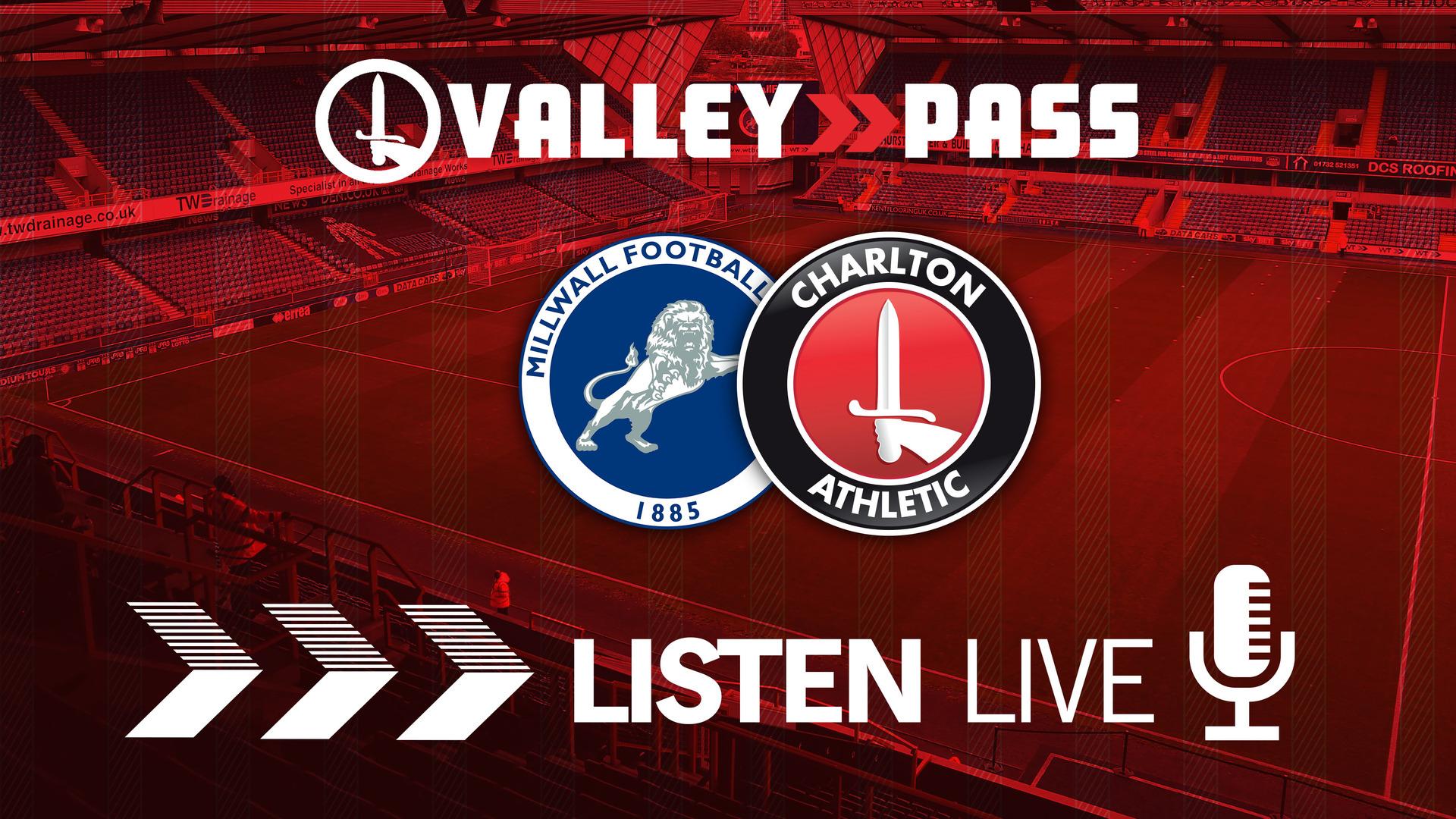 LIVE COMMENTARY | Millwall v Charlton