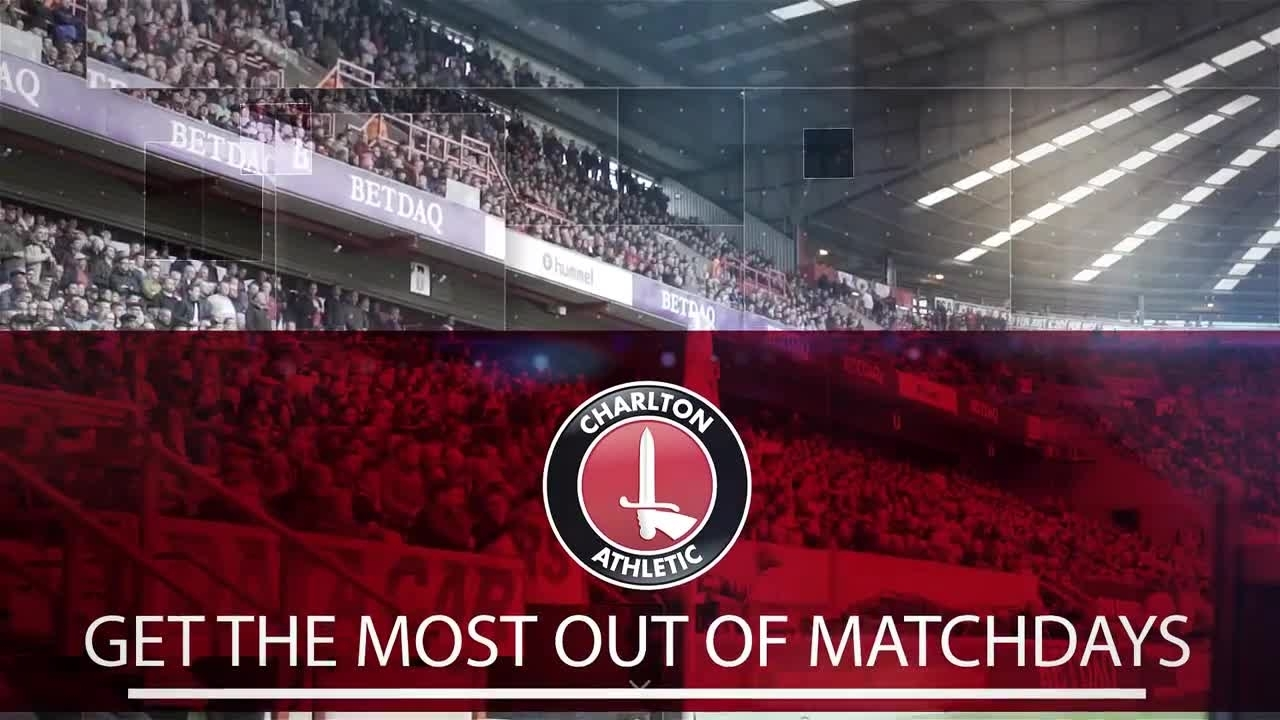 Get the most out of your matchday at The Valley
