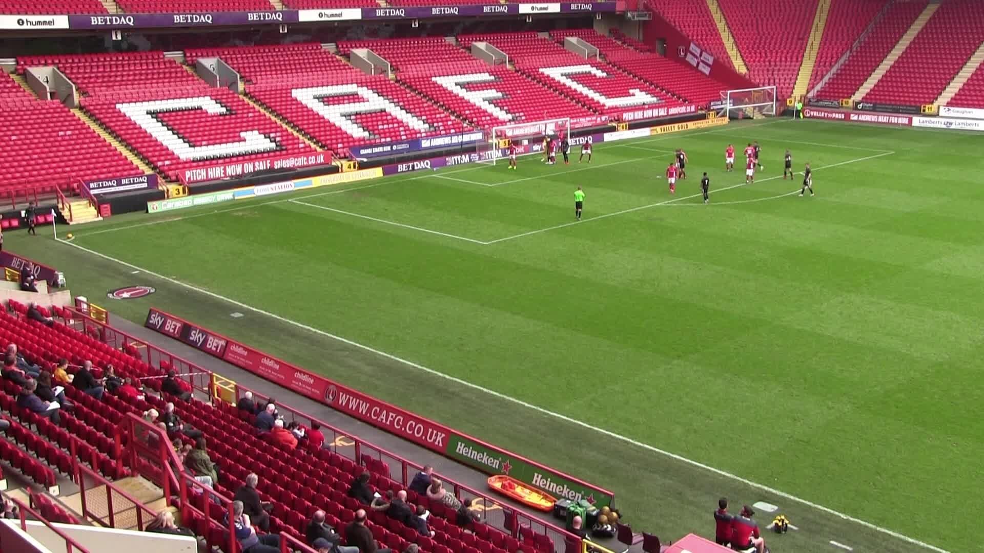 U23 HIGHLIGHTS | Charlton 3 Burnley 0
