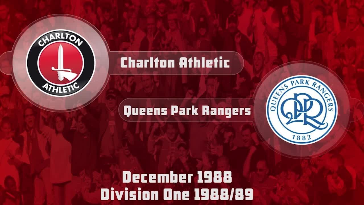 20 HIGHLIGHTS   Charlton 1 QPR 1 (Dec 1988)