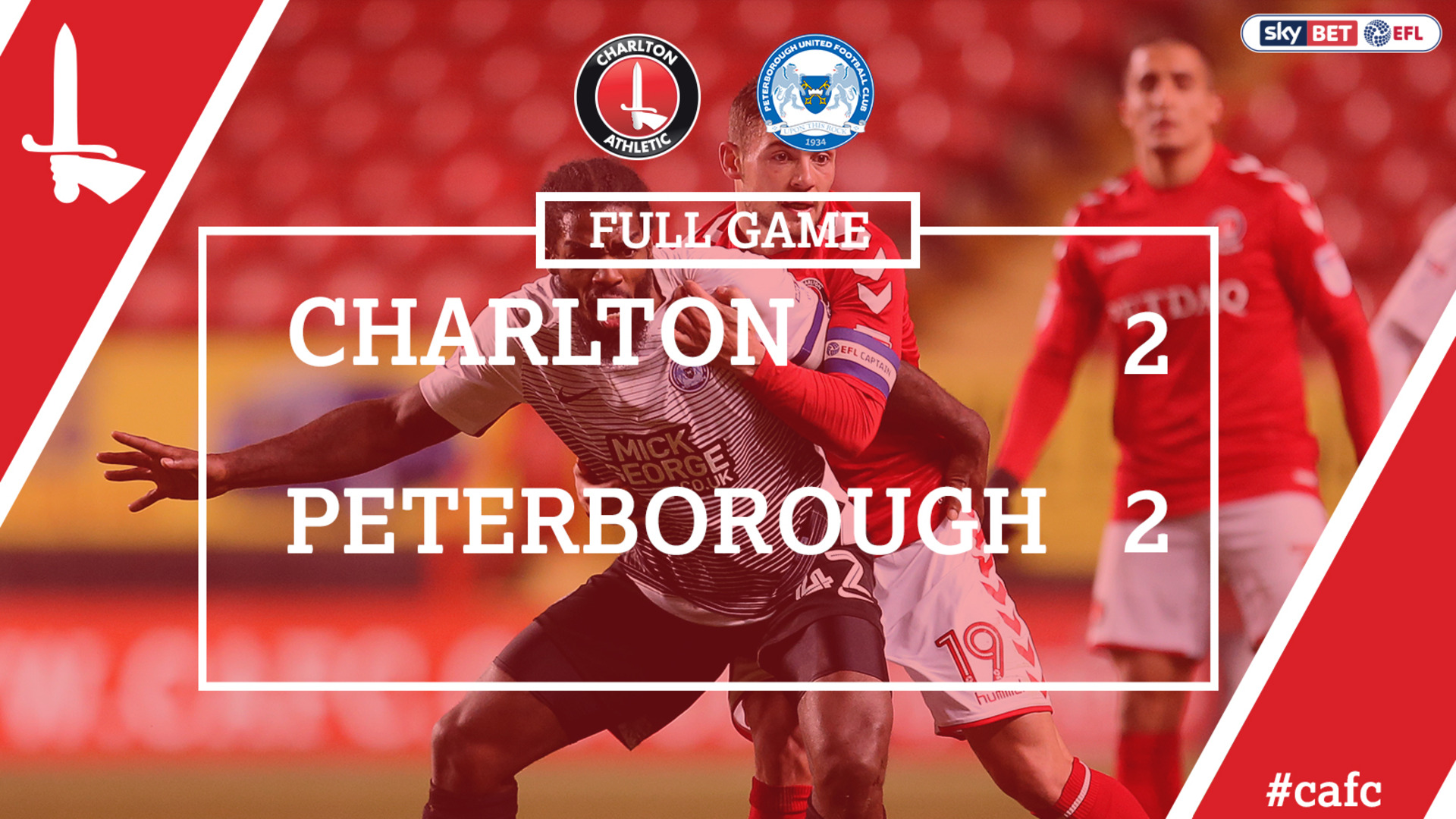 FULL GAME | Charlton 2 Peterborough 2