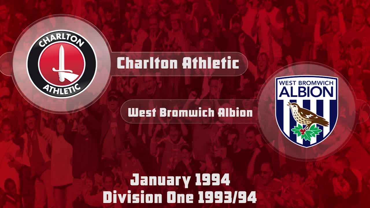 33 HIGHLIGHTS | Charlton 2 West Brom 1 (Jan 1994)