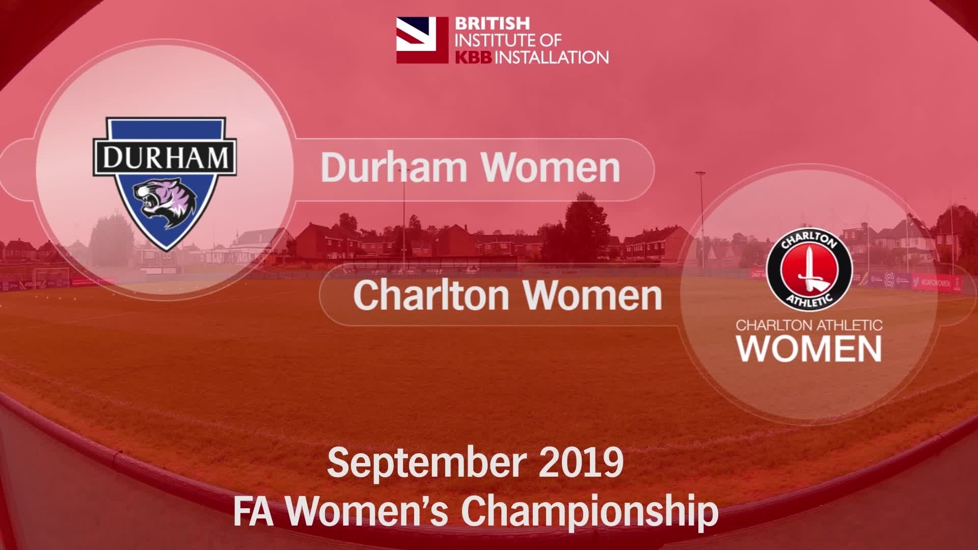 WOMEN'S HIGHLIGHTS | Durham Women 2 Charlton Athletic Women 0 (September 2019)