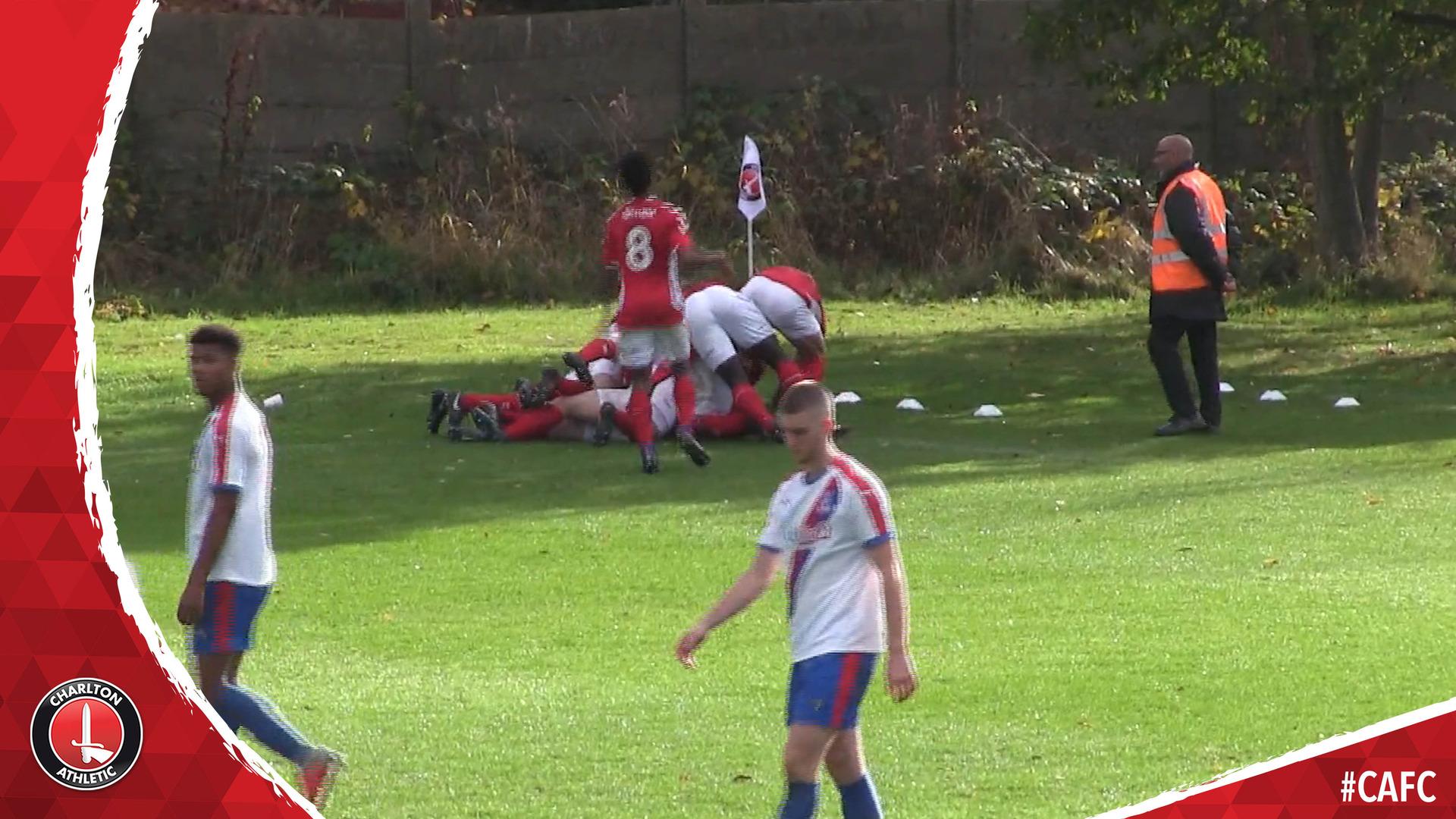 U18S HIGHLIGHTS | Charlton 2 Crystal Palace 1