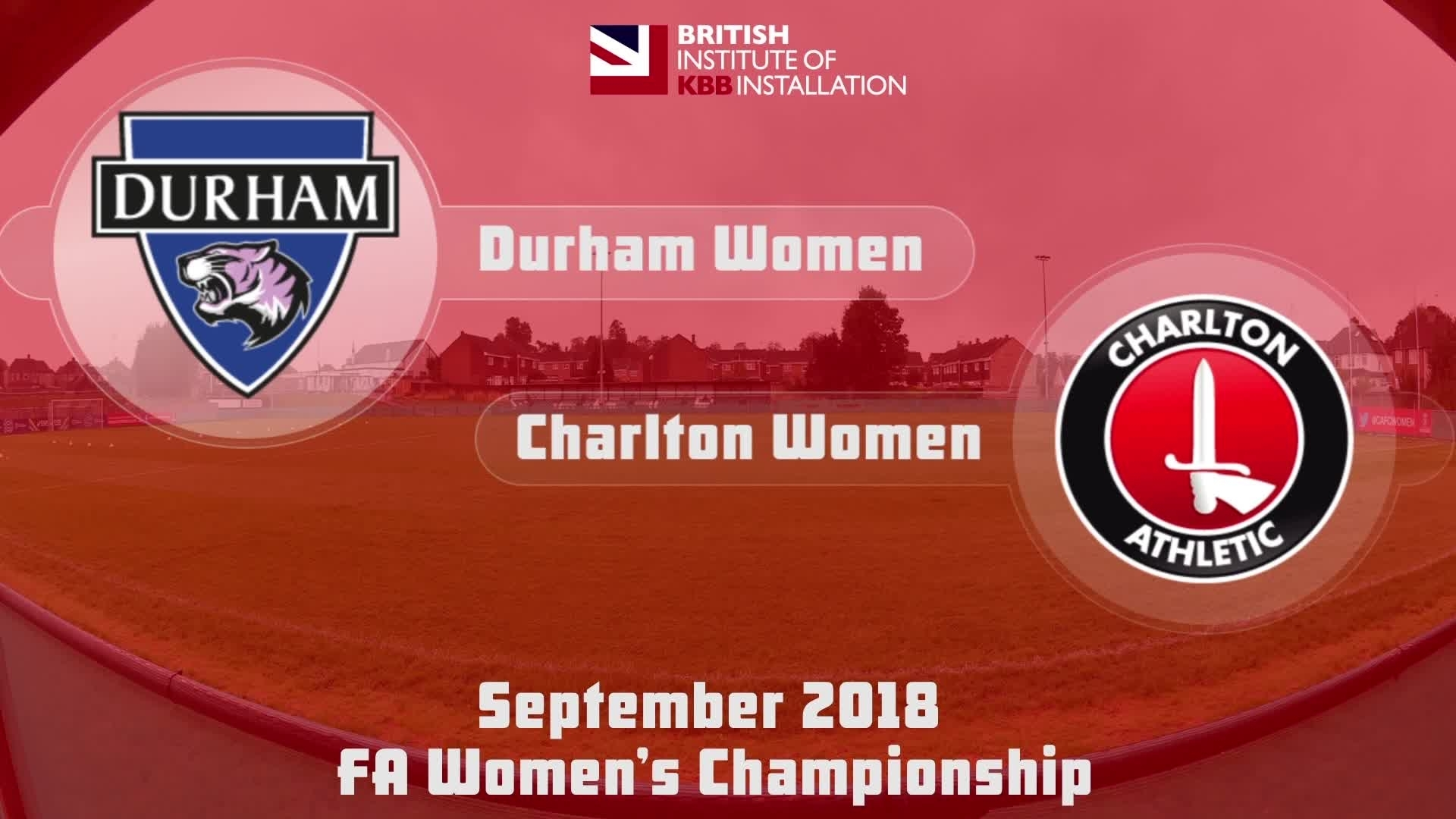 WOMEN HIGHLIGHTS | Durham 2 Charlton 2 (Sept 2018)