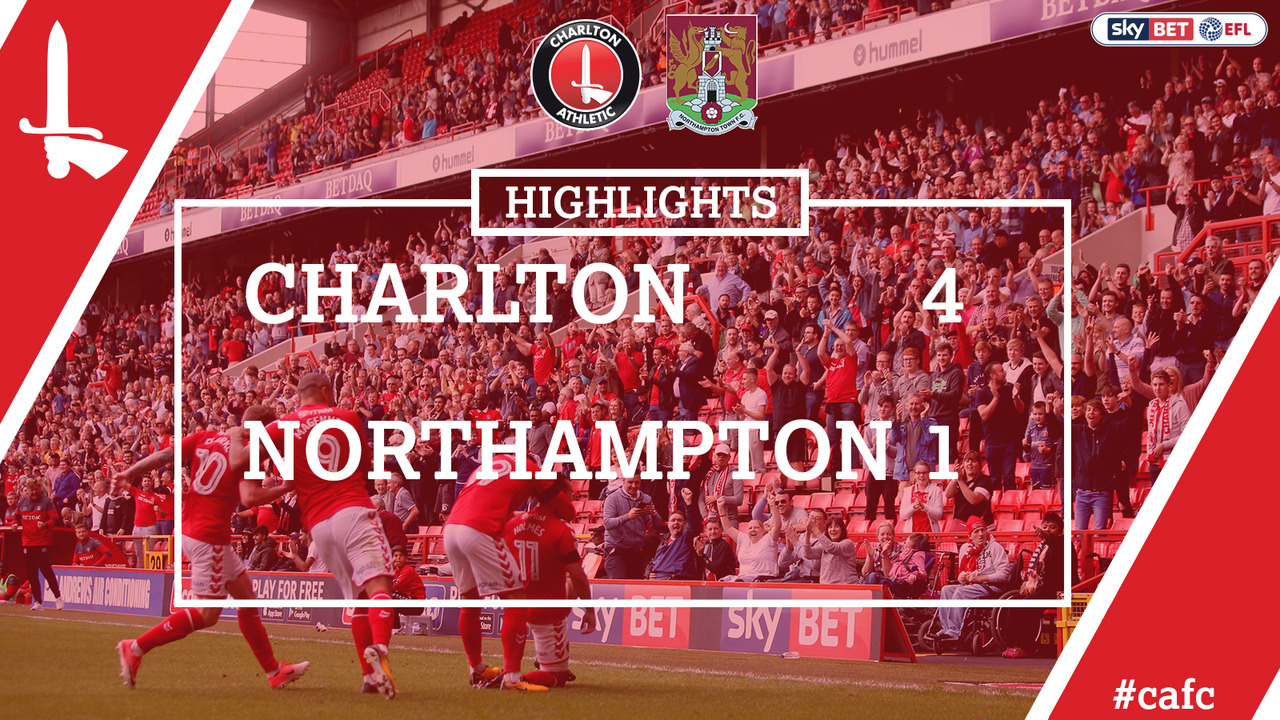 04 HIGHLIGHTS | Charlton 4 Northampton 1 (Aug 2017)