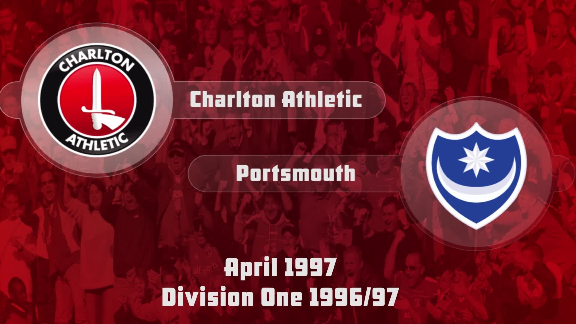 49 HIGHLIGHTS | Charlton 2 Portsmouth 1 (April 1997)