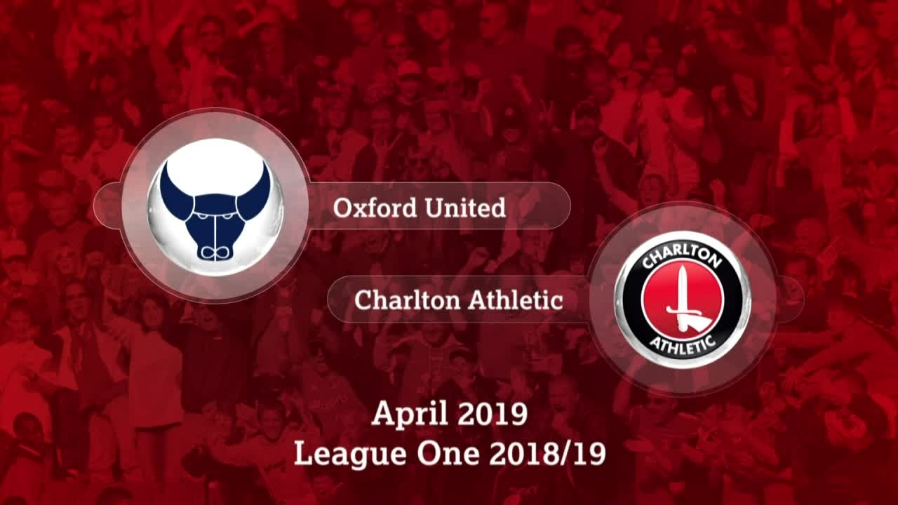 GOALS | Oxford United 2 Charlton 1 (April 2019)
