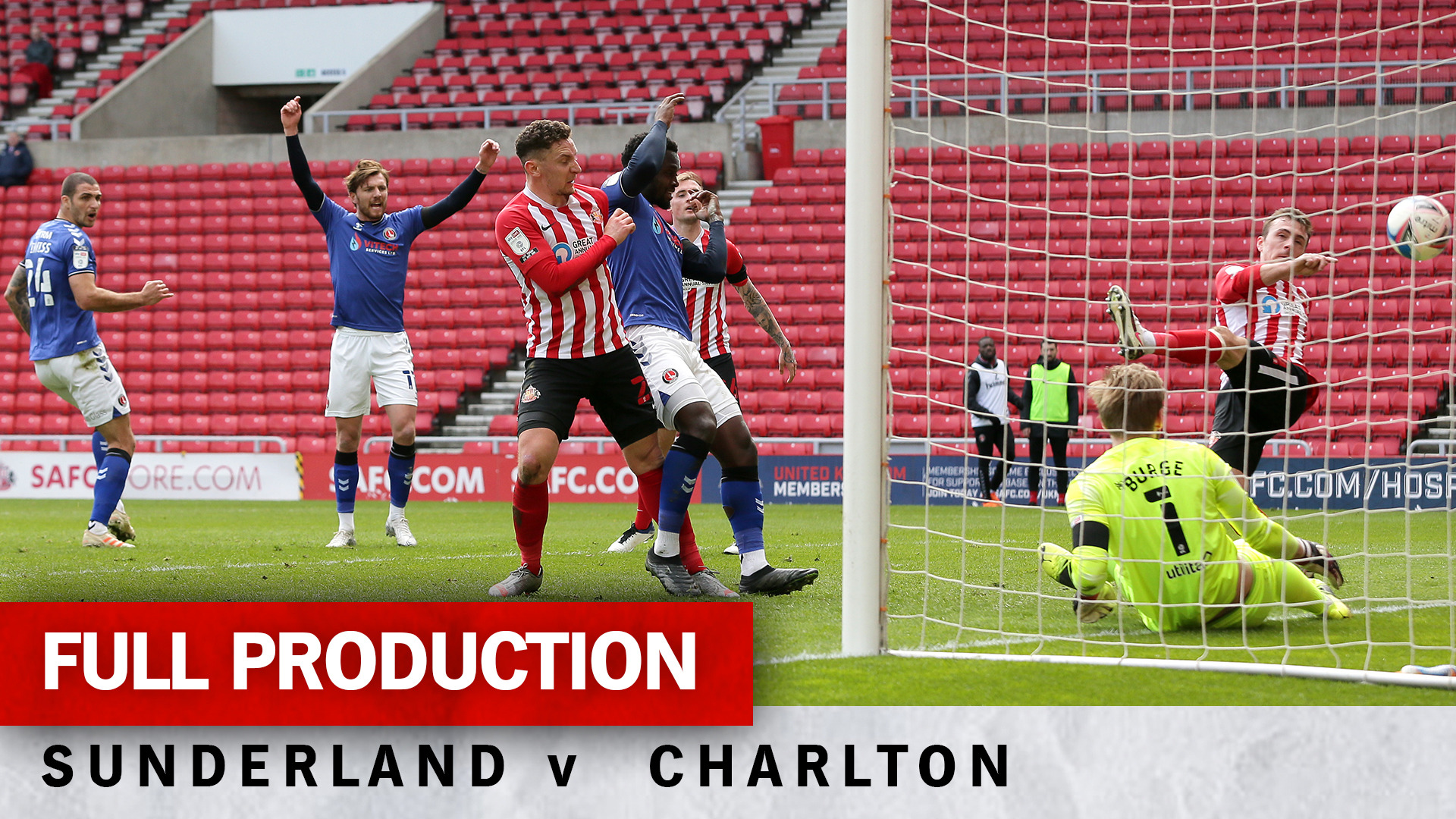 Charlton TV | Full broadcast - Sunderland (a) (April 2021)