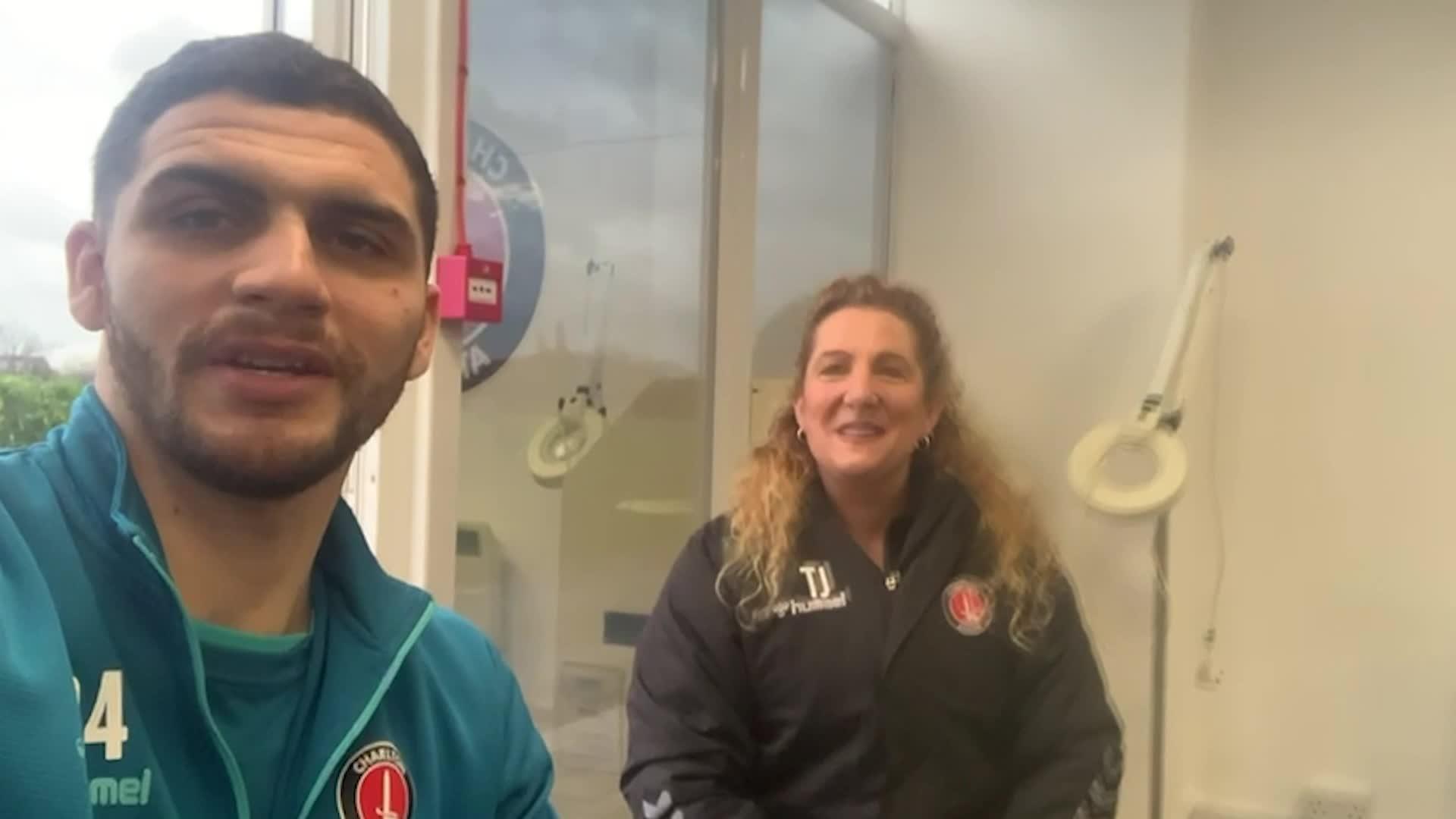Ryan Inniss meets the Charlton Upbeats (January 2021)