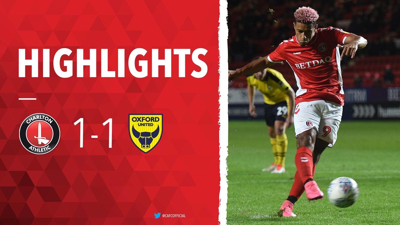 17 HIGHLIGHTS | Charlton 1 Oxford United 1 (October 2018)