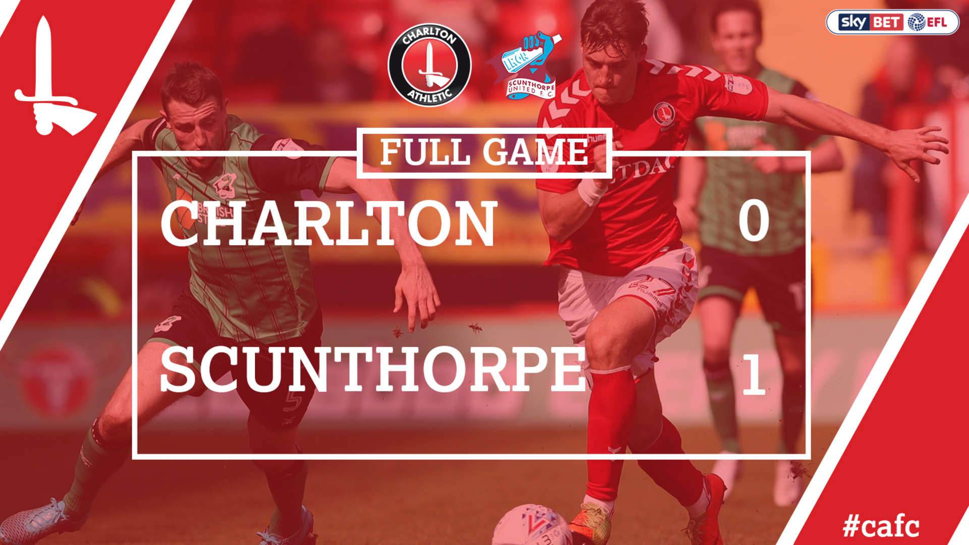 FULL GAME | Charlton 0 Scunthorpe 1 (April 2018)