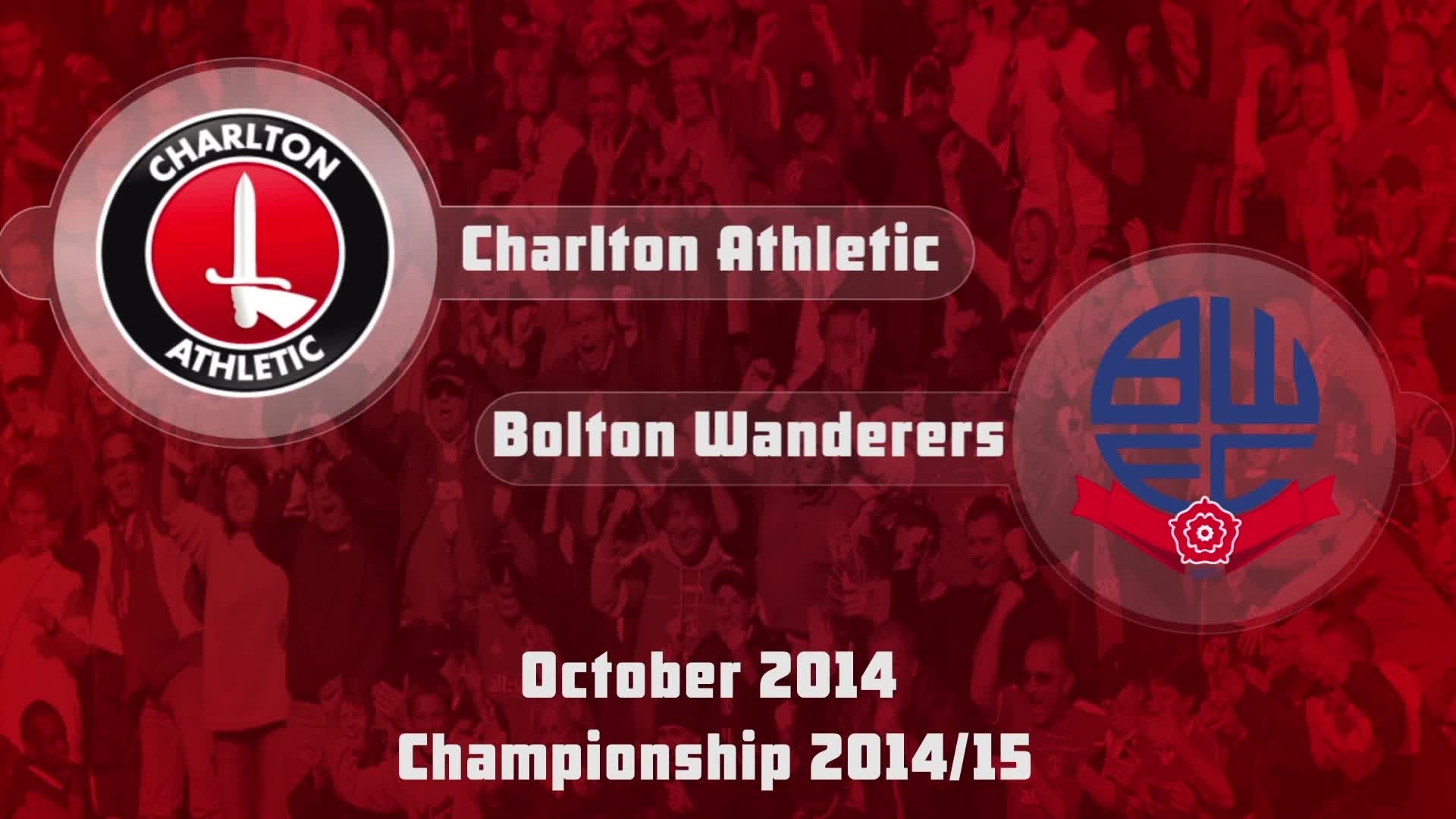 15 HIGHLIGHTS | Charlton 2 Bolton 1 (Oct 2014)