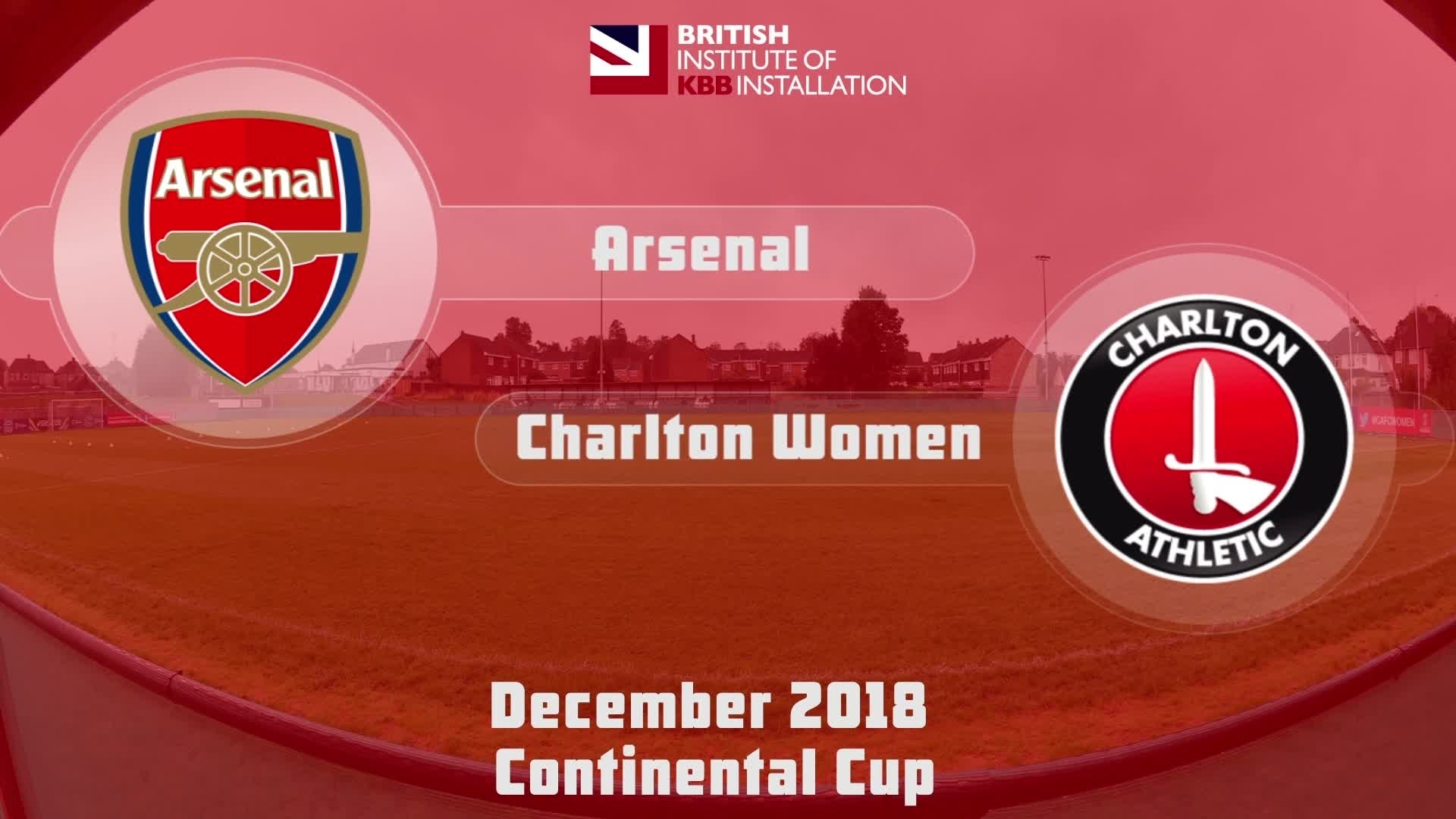 WOMEN HIGHLIGHTS | Arsenal 5 Charlton 0 (Continental Cup Dec 2018)