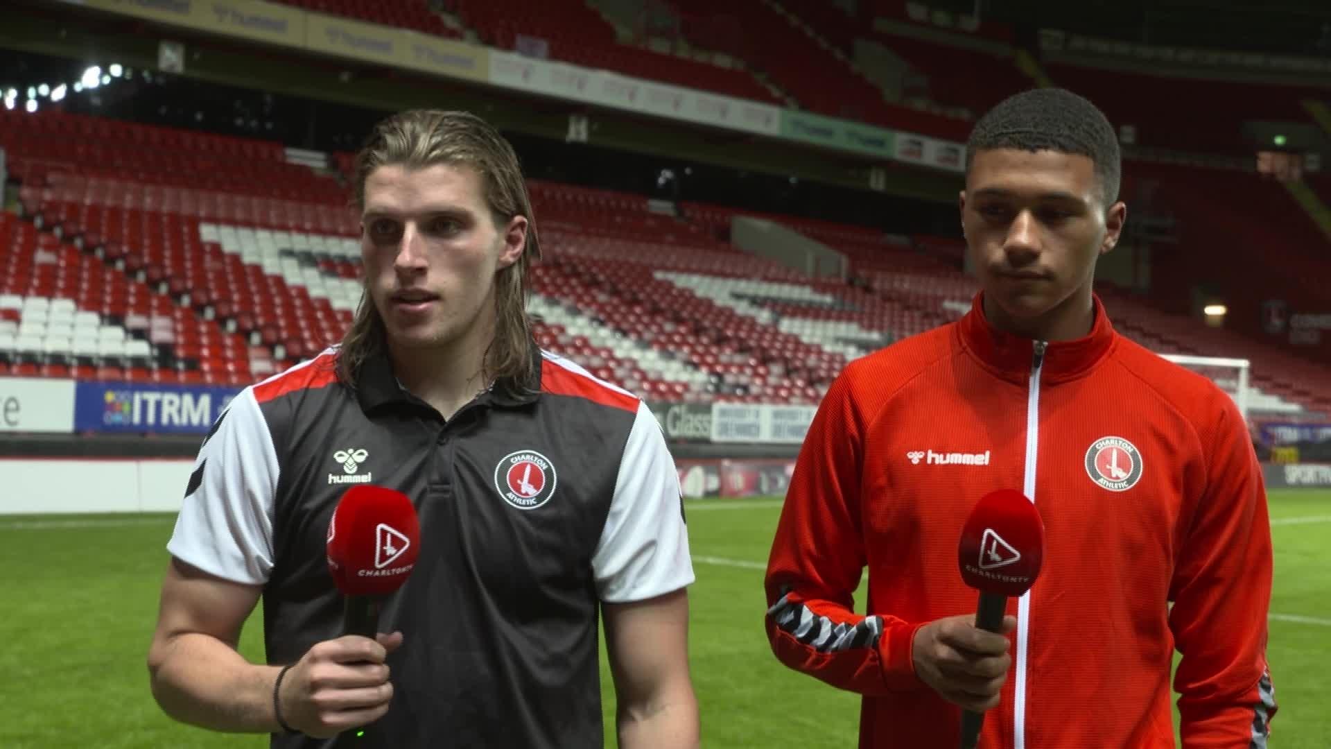 Davison and Burstow on Crawley victory (September 2021)