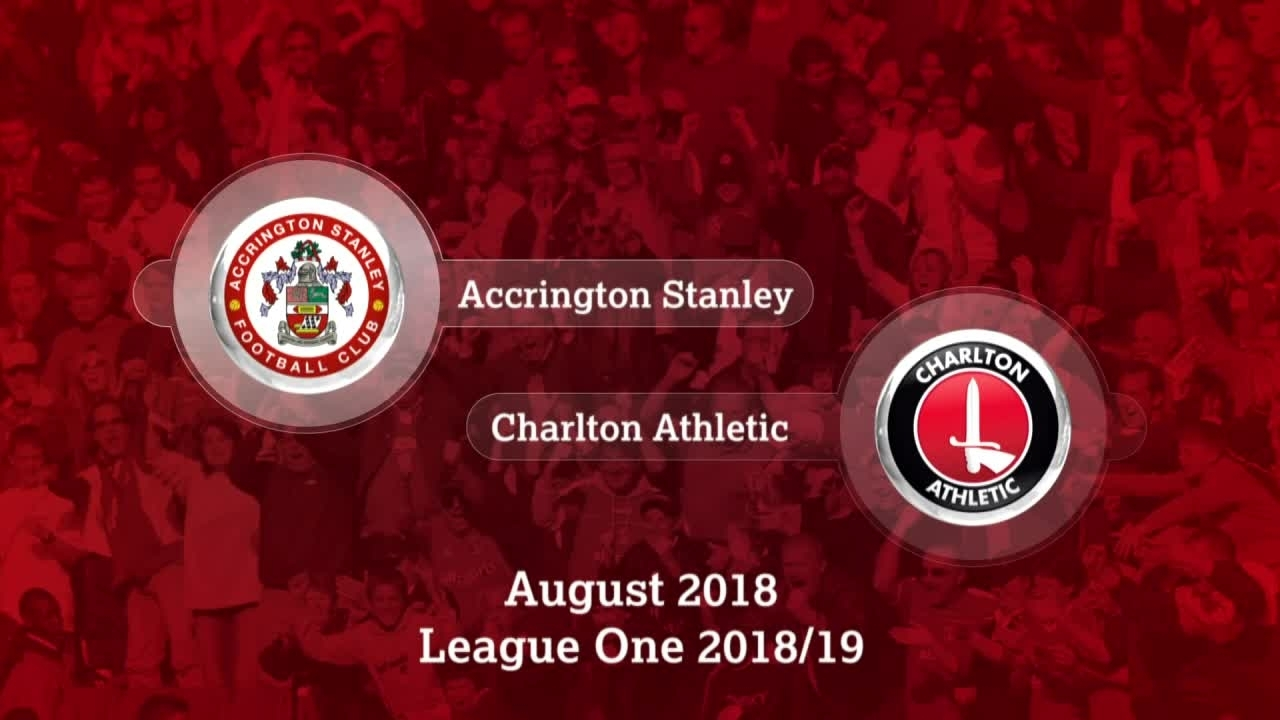 HIGHLIGHTS | Accrington Stanley 1 Charlton 1 (Aug 2018)