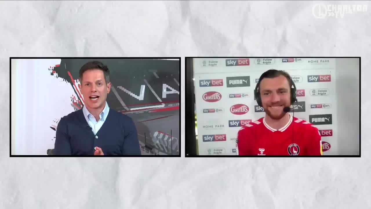 Alex Gilbey on the Addicks 6-0 win at Plymouth (April 2021)