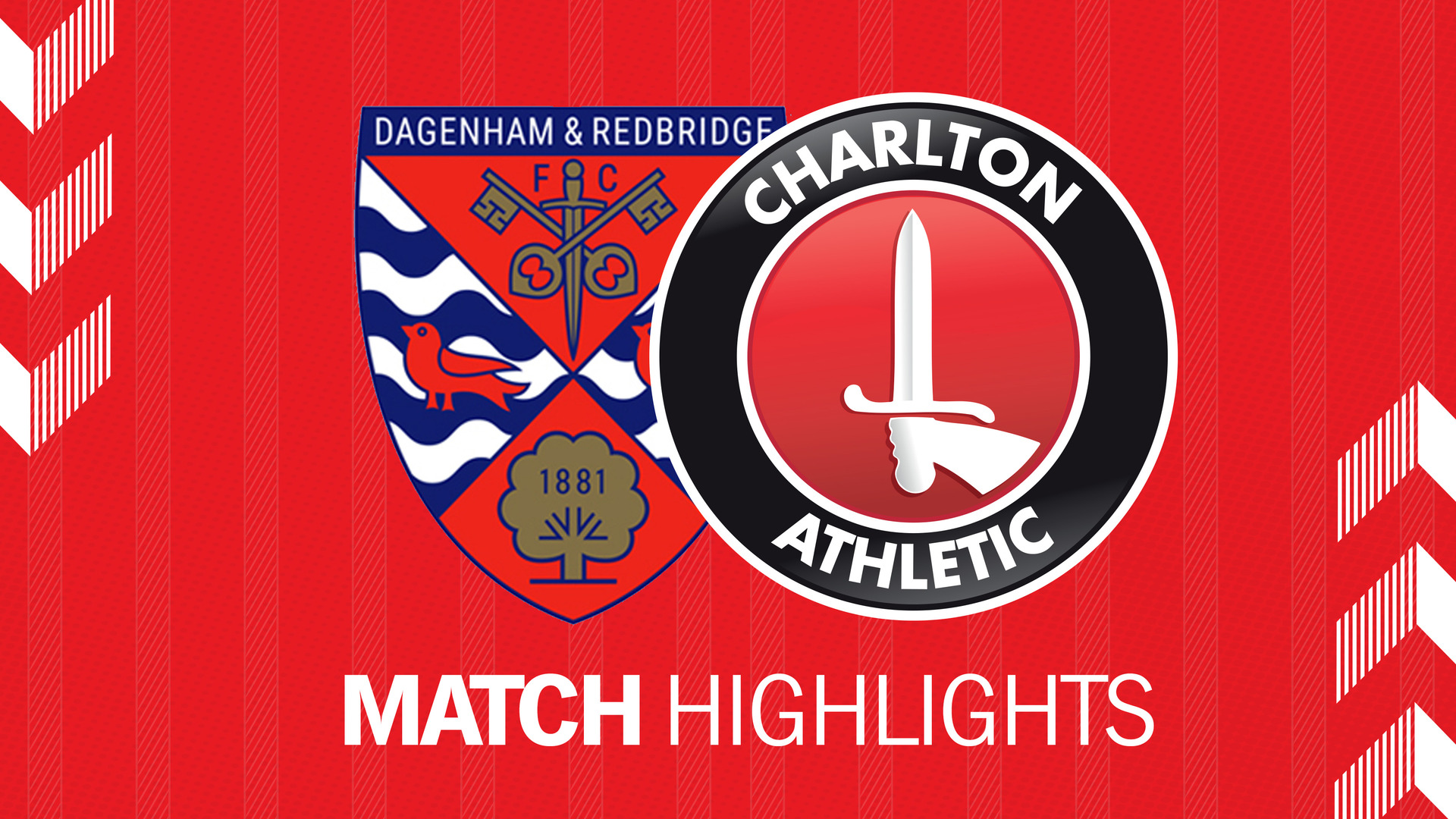 HIGHLIGHTS | Dagenham & Redbridge 0 Charlton 4 (July 2019)