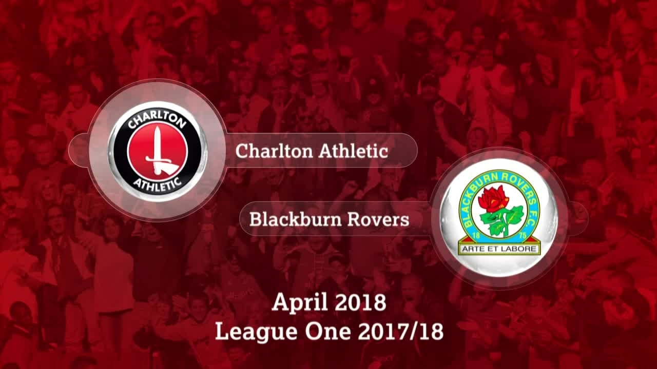 GOALS | Charlton 1 Blackburn 0 (April 2018)