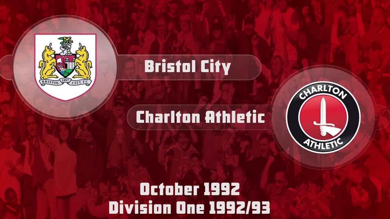 15 HIGHLIGHTS | Bristol City 2 Charlton 1 (Oct 1992)