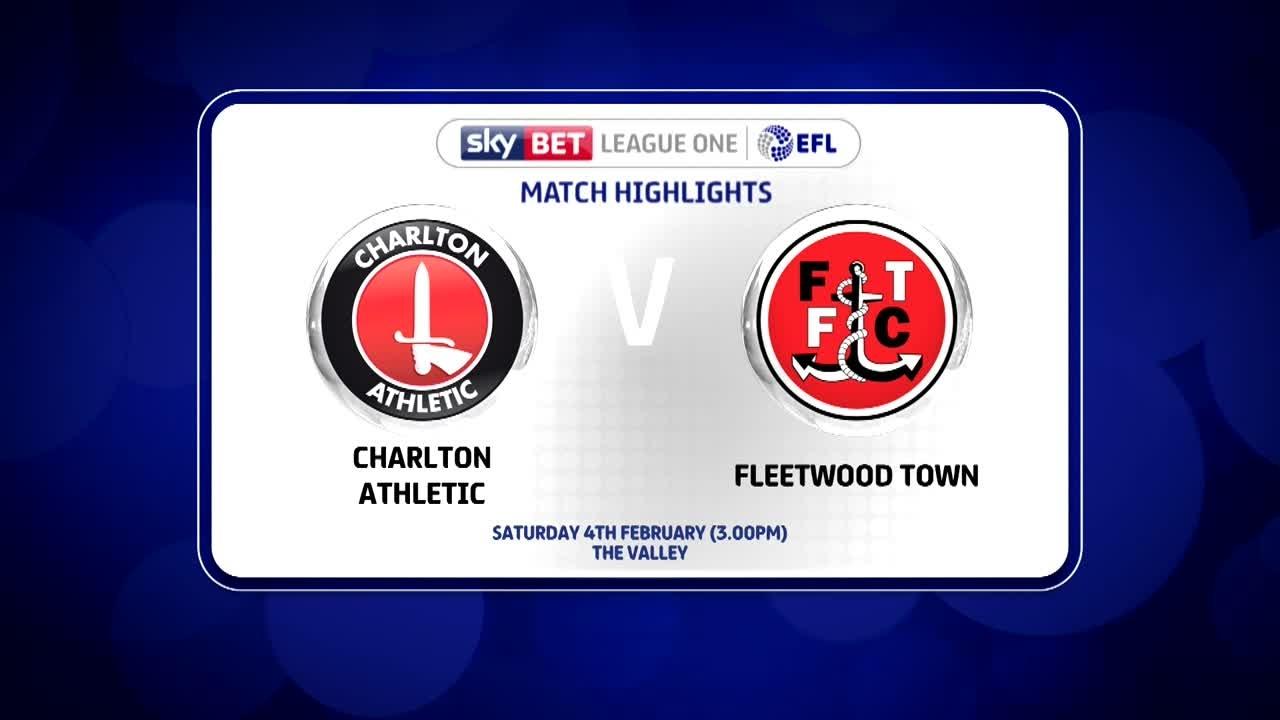 35 HIGHLIGHTS | Charlton 1 Fleetwood 1 (Feb 2017)