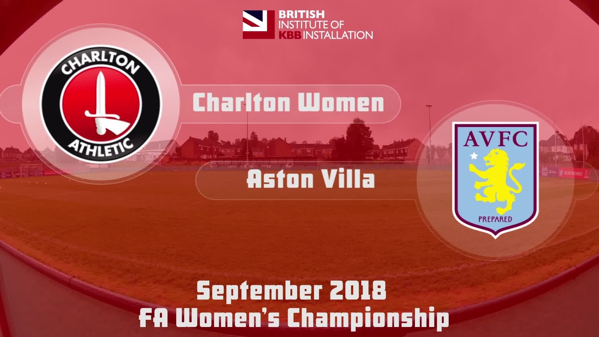 HIGHLIGHTS | Charlton Women 2 Aston Villa 0 (Sept 2018)