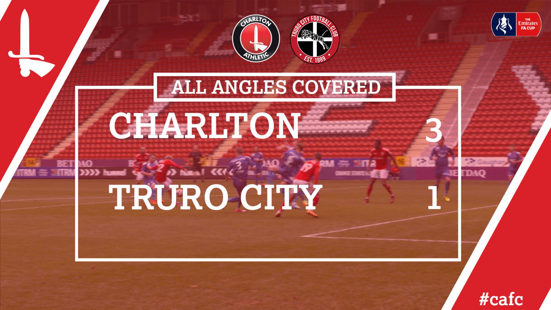 ALL ANGLES COVERED | Charlton 3 Truro City 1