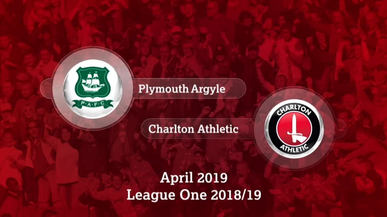 GOALS | Plymouth Argyle 0 Charlton 2 (April 2019)