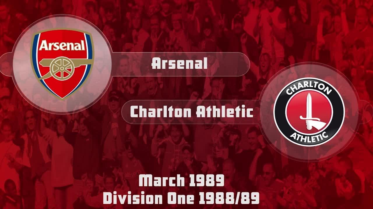36  HIGHLIGHTS | Arsenal 2 Charlton 2 (March 1989)