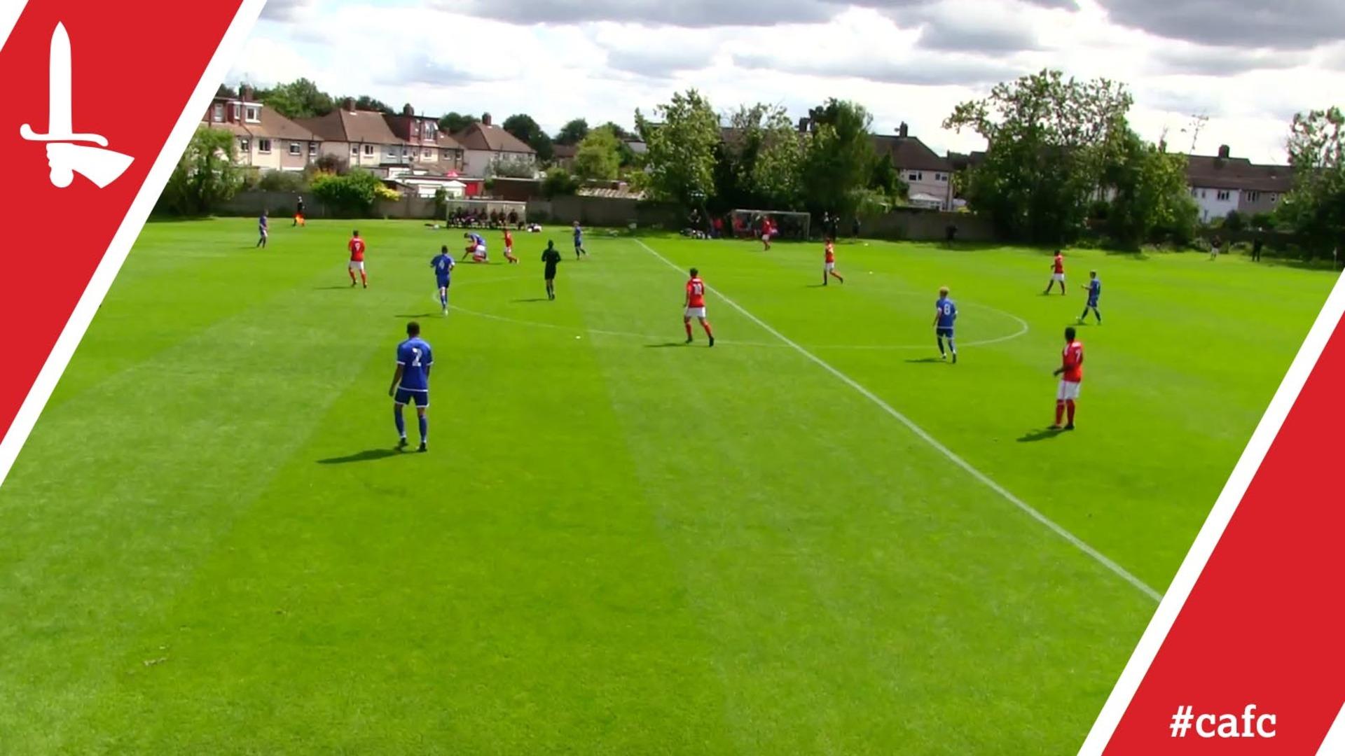 U18S HIGHLIGHTS   Charlton 0 Crewe Alexandra 2
