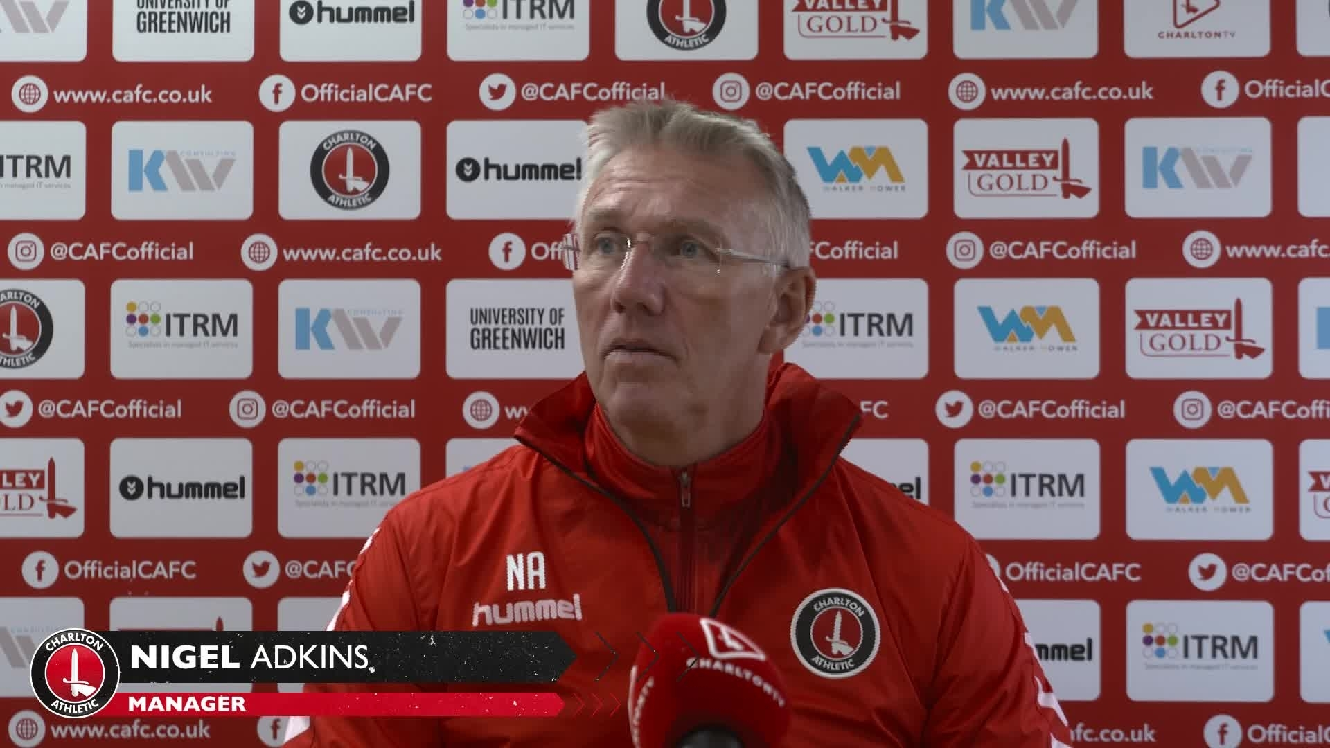 Nigel Adkins' pre-Lincoln City press conference (October 2021)