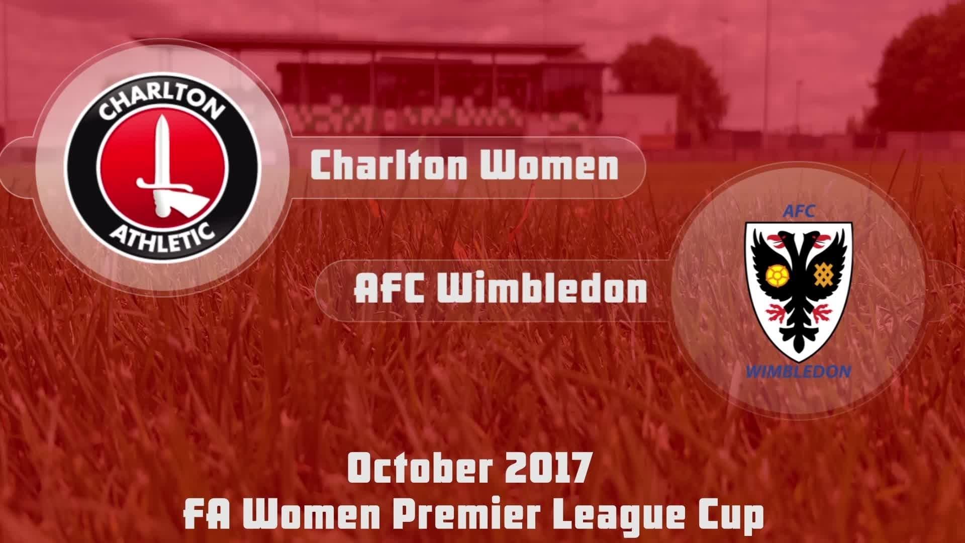 WOMEN HIGHLIGHTS | Charlton 3 AFC Wimbledon 2