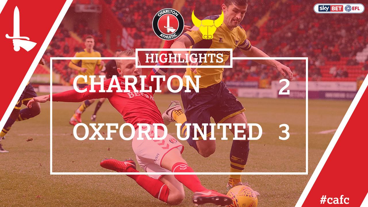 38 HIGHLIGHTS | Charlton 2 Oxford 3 (Feb 2018)