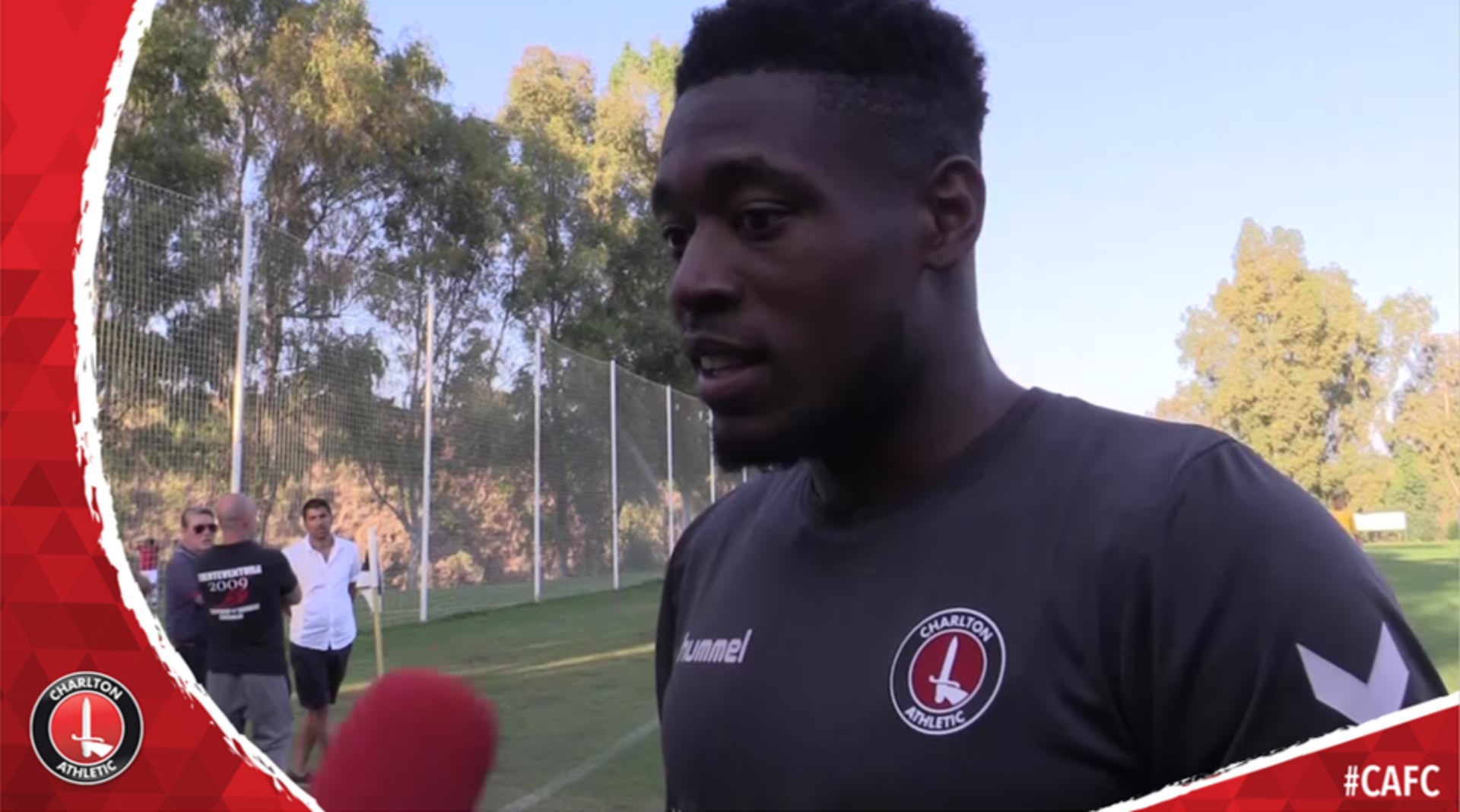 Chuks Aneke on his first few days at Charlton