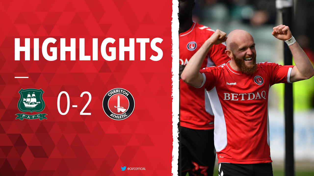 47 HIGHLIGHTS | Plymouth Argyle 0 Charlton 2 (April 2019)