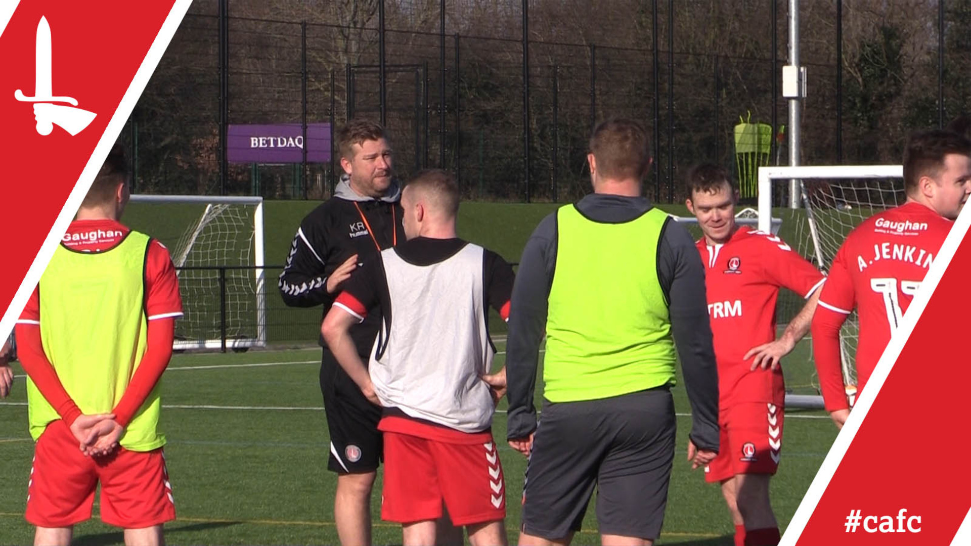 FREEVIEW | Karl Robinson and his staff train CACT Invicta