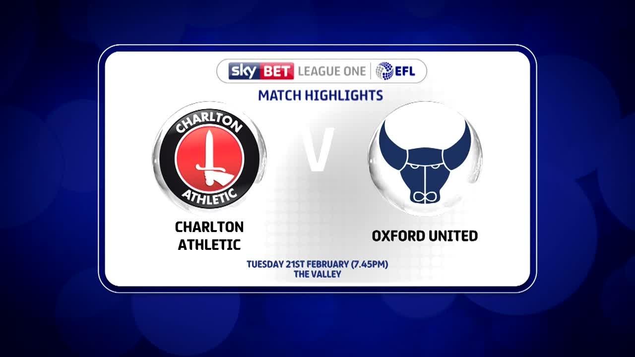 39 HIGHLIGHTS | Charlton 0 Oxford 1 (Feb 2017)